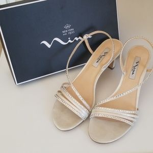 """""""Nina"""" Size 10M Womens Party Shoes"""